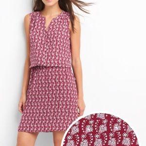 GAP Sleeveless Tie Waist Shirt Dress   Size Small